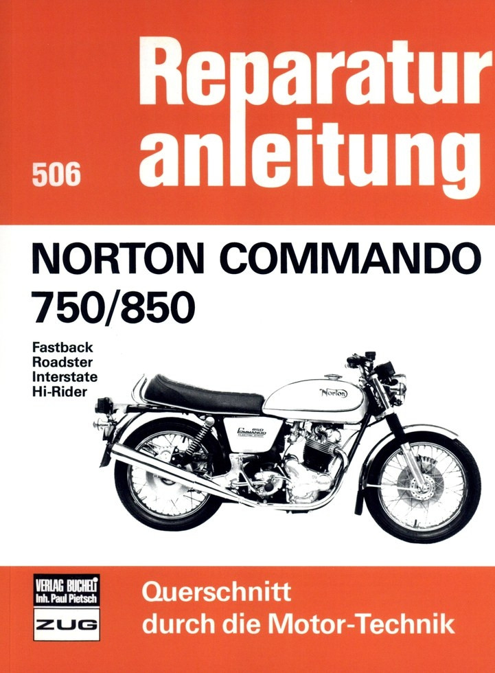 Norton Commando 750 / 850 (1967-1977) Reparaturanleitung
