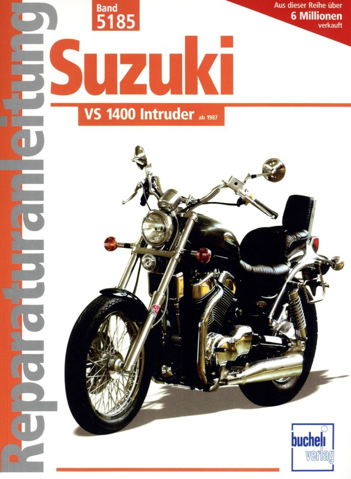 Suzuki VS 1400 Intruder (1987-2003) - Reparaturanleitung