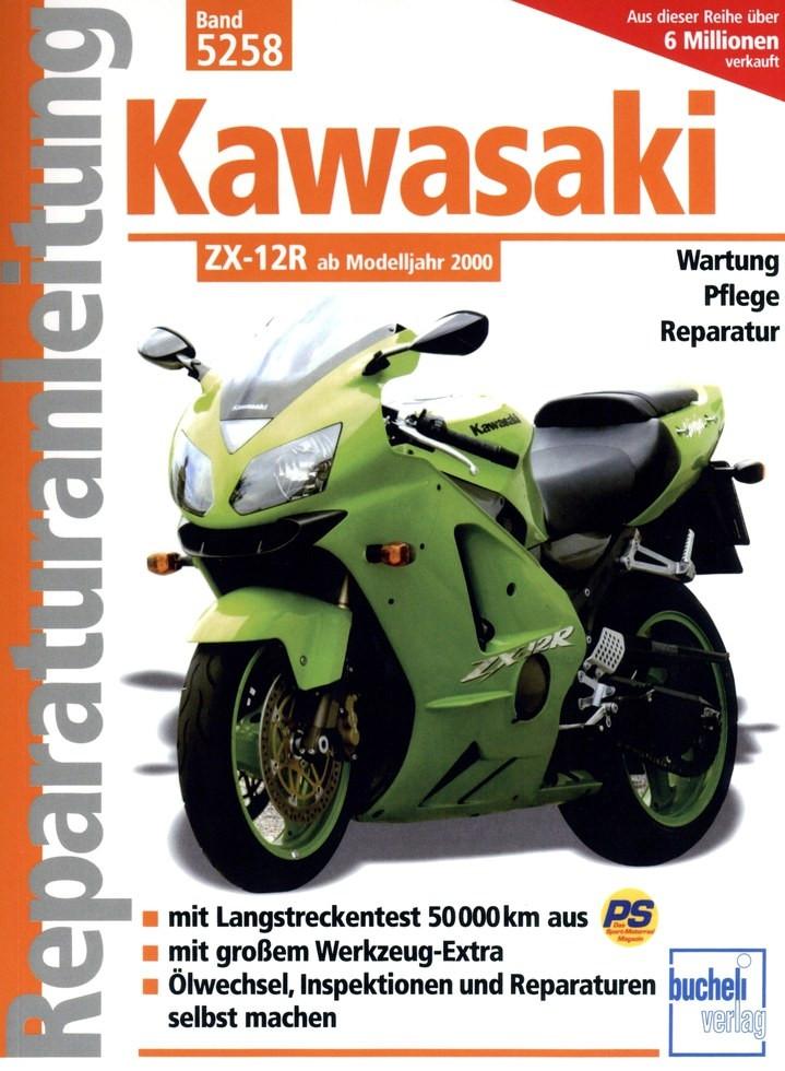 Kawasaki ZX-12R Reparaturanleitung