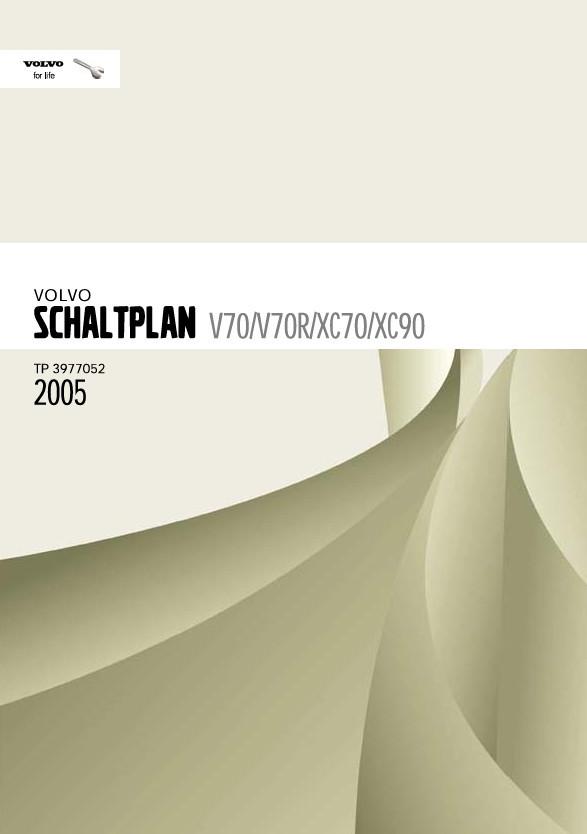 Volvo V70 Werkstatthandbuch Schaltpläne 2005