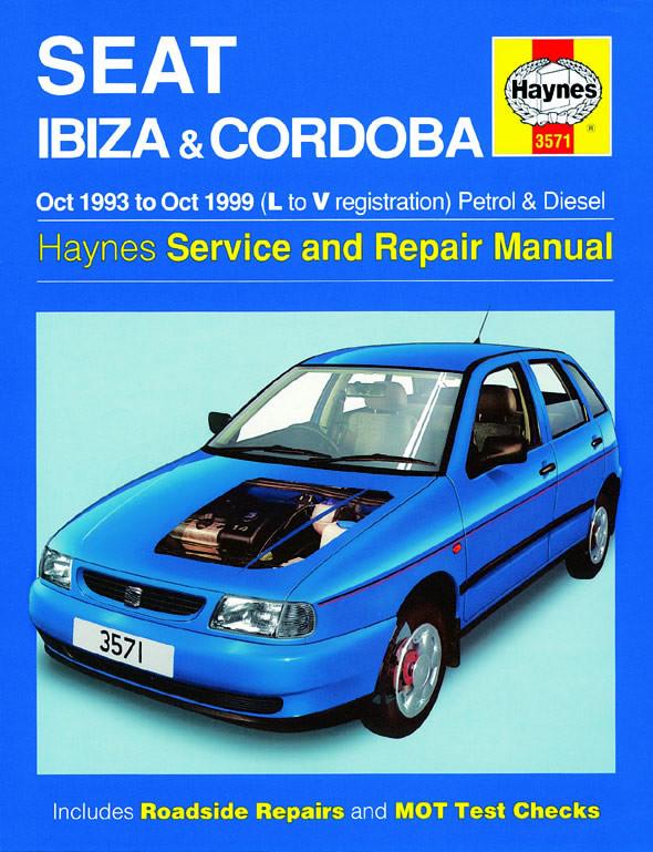 Seat Ibiza & Cordoba Petrol & Diesel (93-99) Repair Manual Haynes