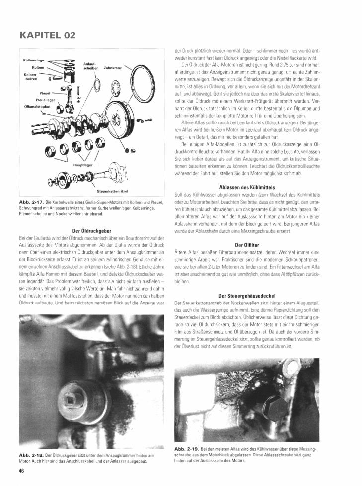 Alfa Romeo - Schrauberhandbuch Reparaturanleitung