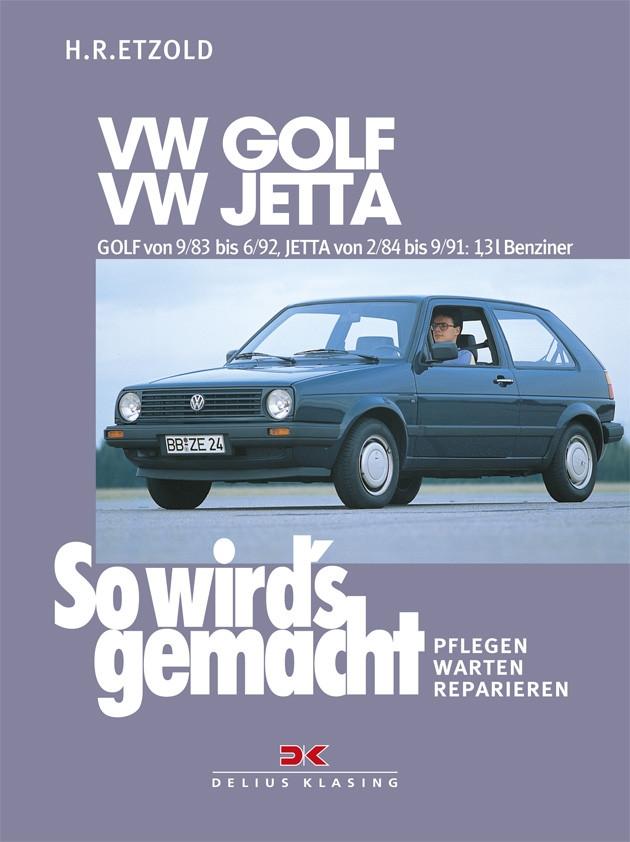 VW Golf II / VW Jetta  Reparaturanleitung Delius 43 So wirds gemacht