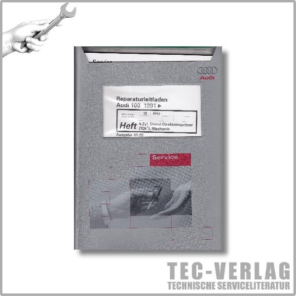 Audi 100 C4 (91-94), 4-Zyl. Diesel-Direkteinspritzer (TDI), Mechanik