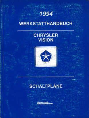 Crysler Vision (94) Schaltpläne - Werkstandhandbuch