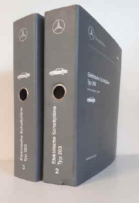 Mercedes C-Klasse Typ 203 - Elektrische Schaltpläne Band 2+3