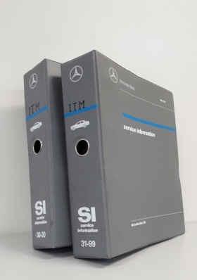 Mercedes Typ 202 - Service Information Werkstatthandbuch