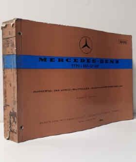 Mercedes L/LP 327  - Fahrgestell- und Aufbau-Ersatzteilliste, Parts List