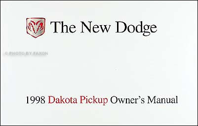 Chrysler Dakota Pickup Betriebsanleitung