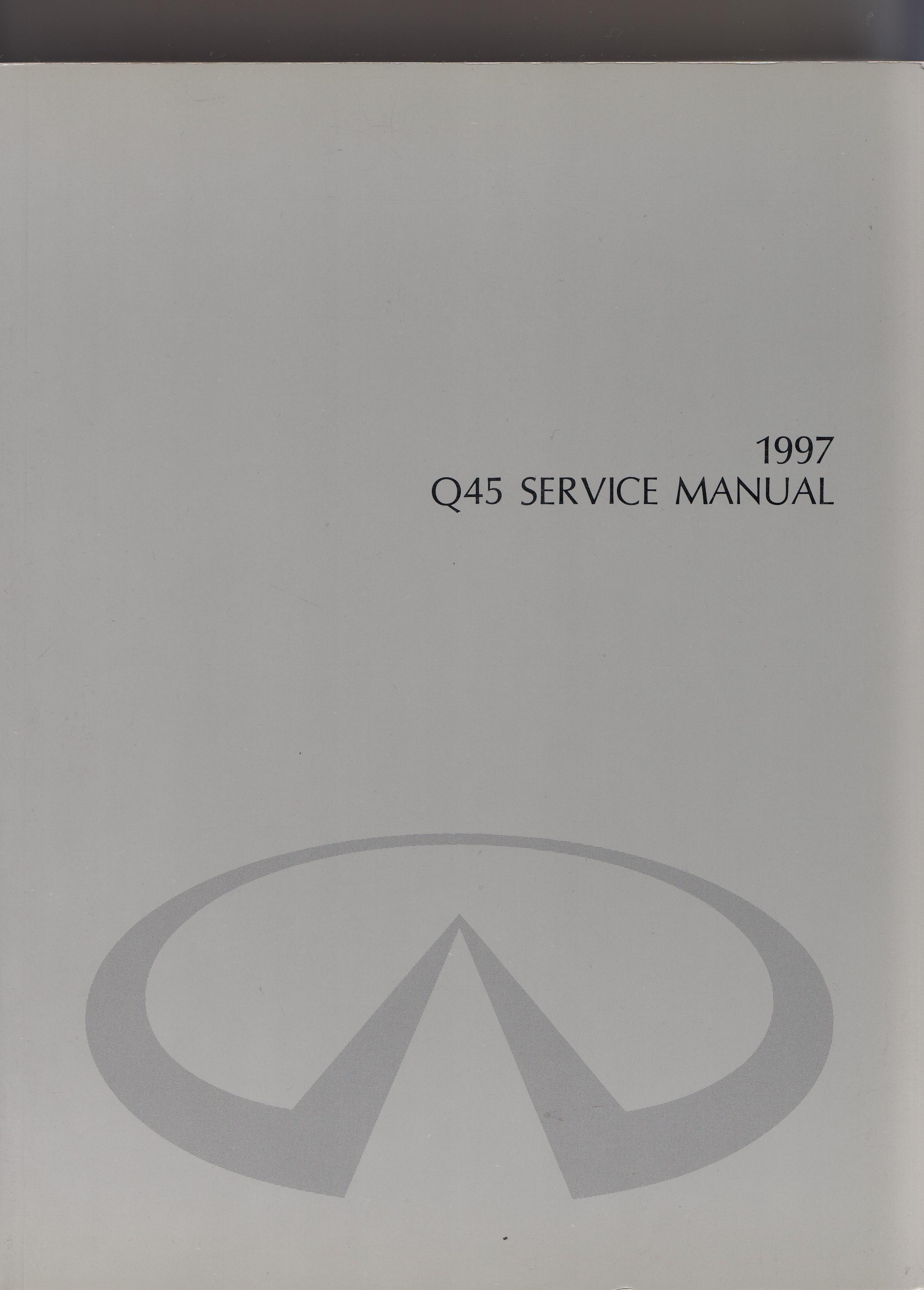Infiniti Q45 Werkstatthandbuch