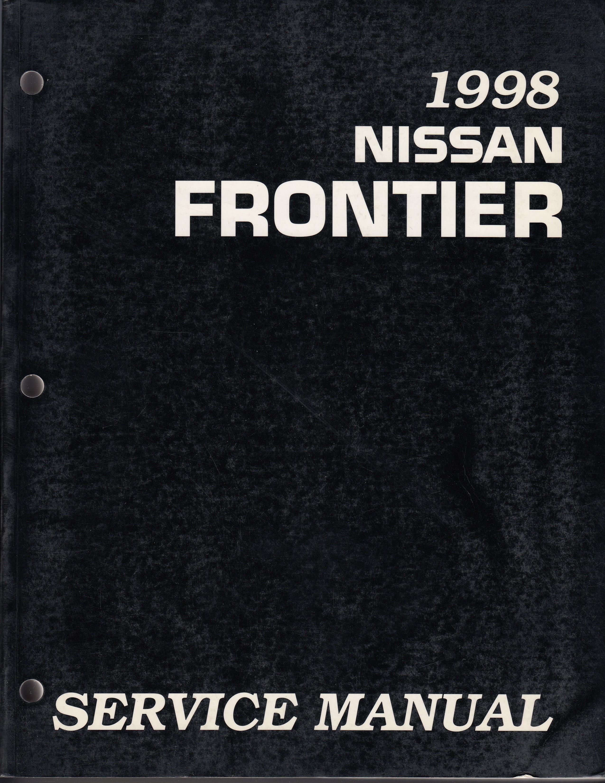 Nissan Frontier (98-00) Werkstatthandbuch von 1998