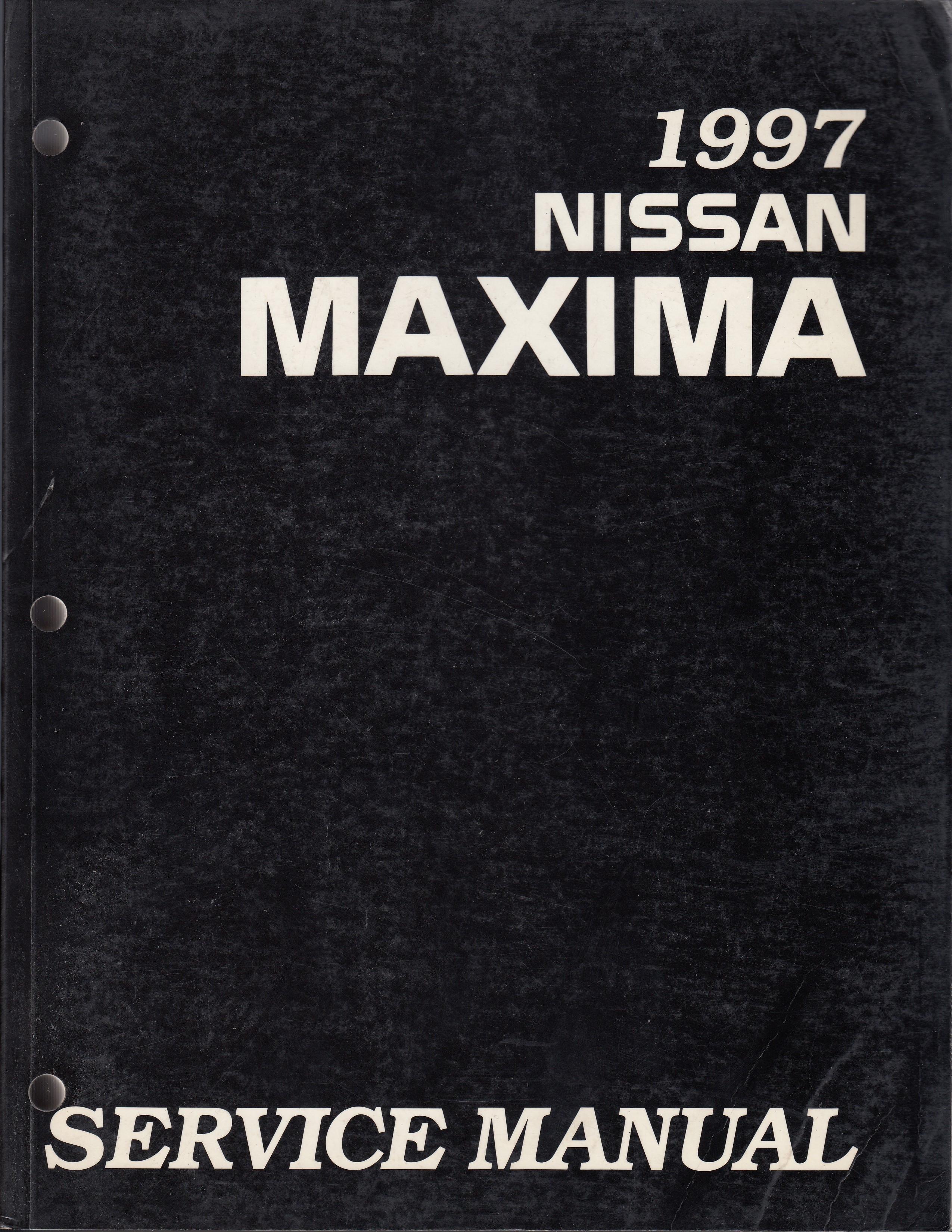 Nissan Maxima (95-00) Werkstatthandbuch von 1997