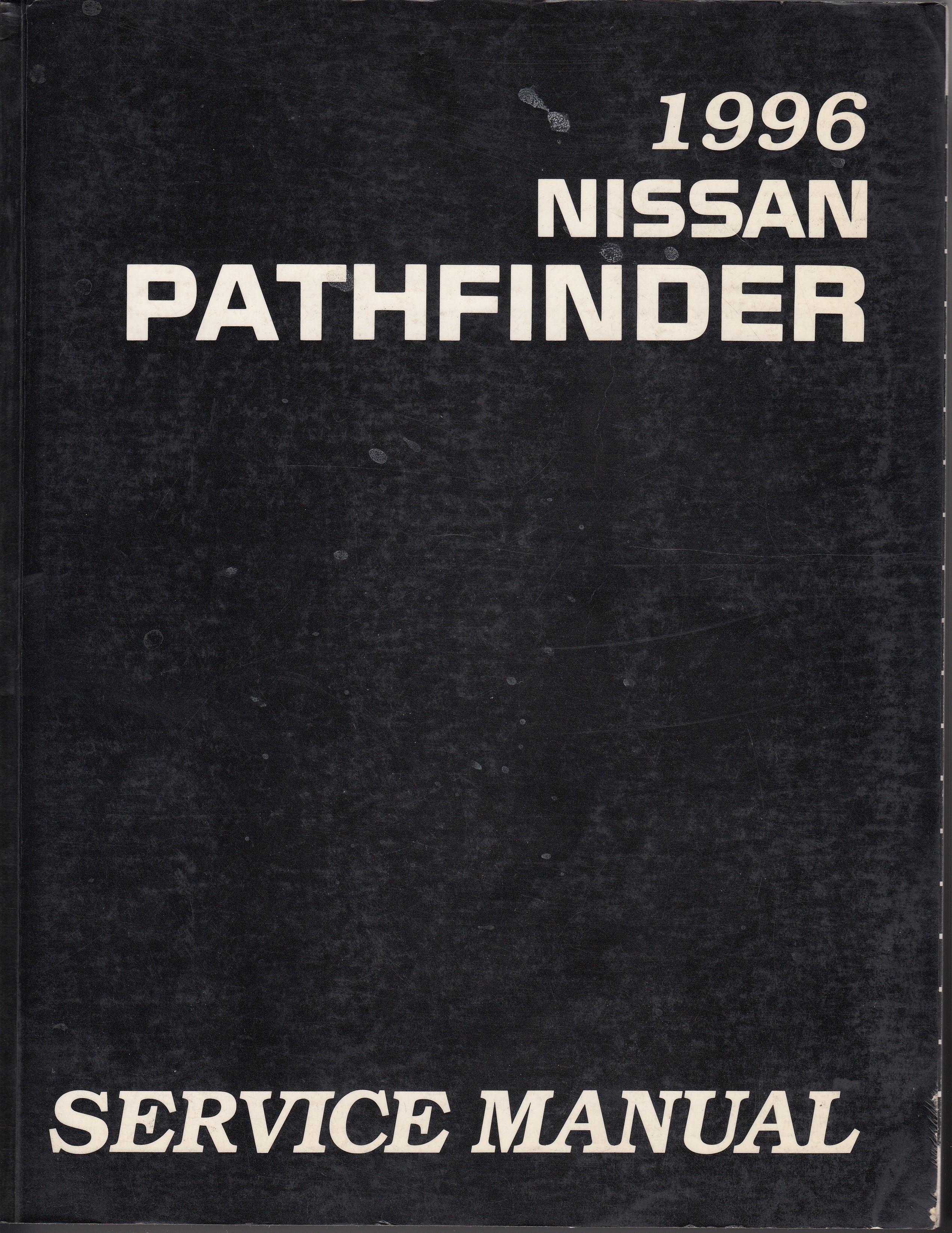Nissan Pathfinder (95-04) Werkstatthandbuch von 1996