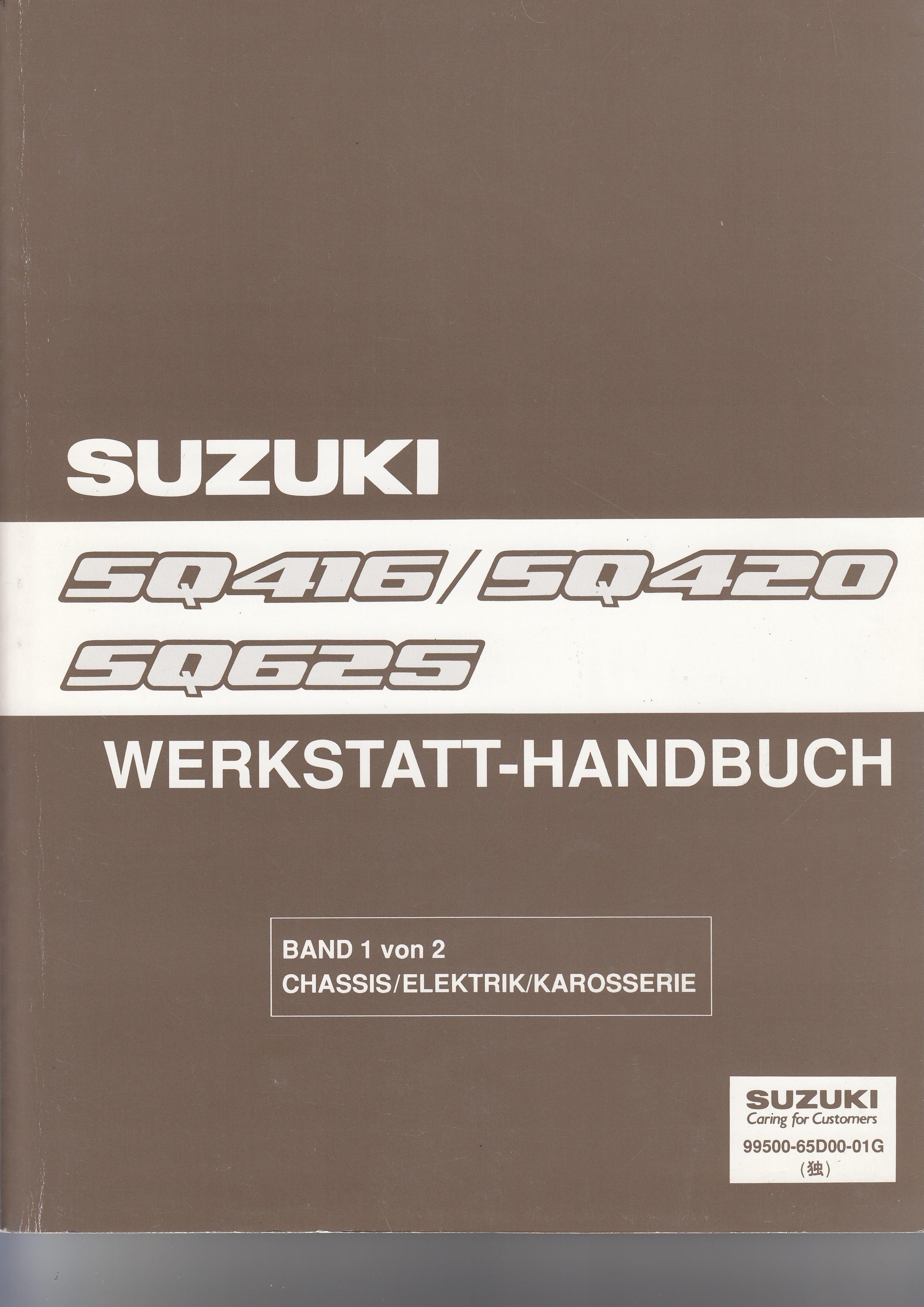 Suzuki Grand Vitara (98-01) - Werkstatthandbuch