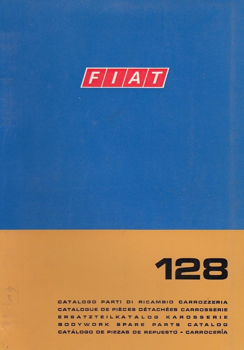 Fiat 128 (1969)  - Ersatzteilkatalog Karosserie