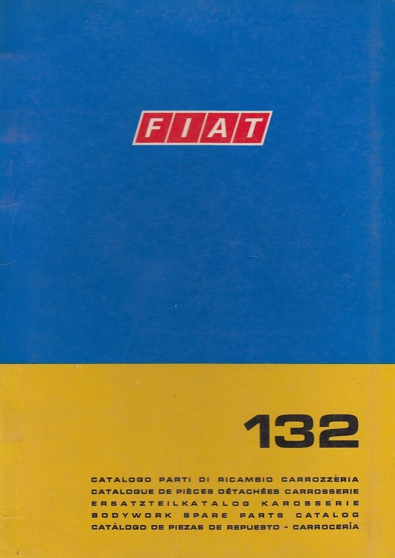 Fiat 132 (1972)  - Ersatzteilkatalog Karosserie