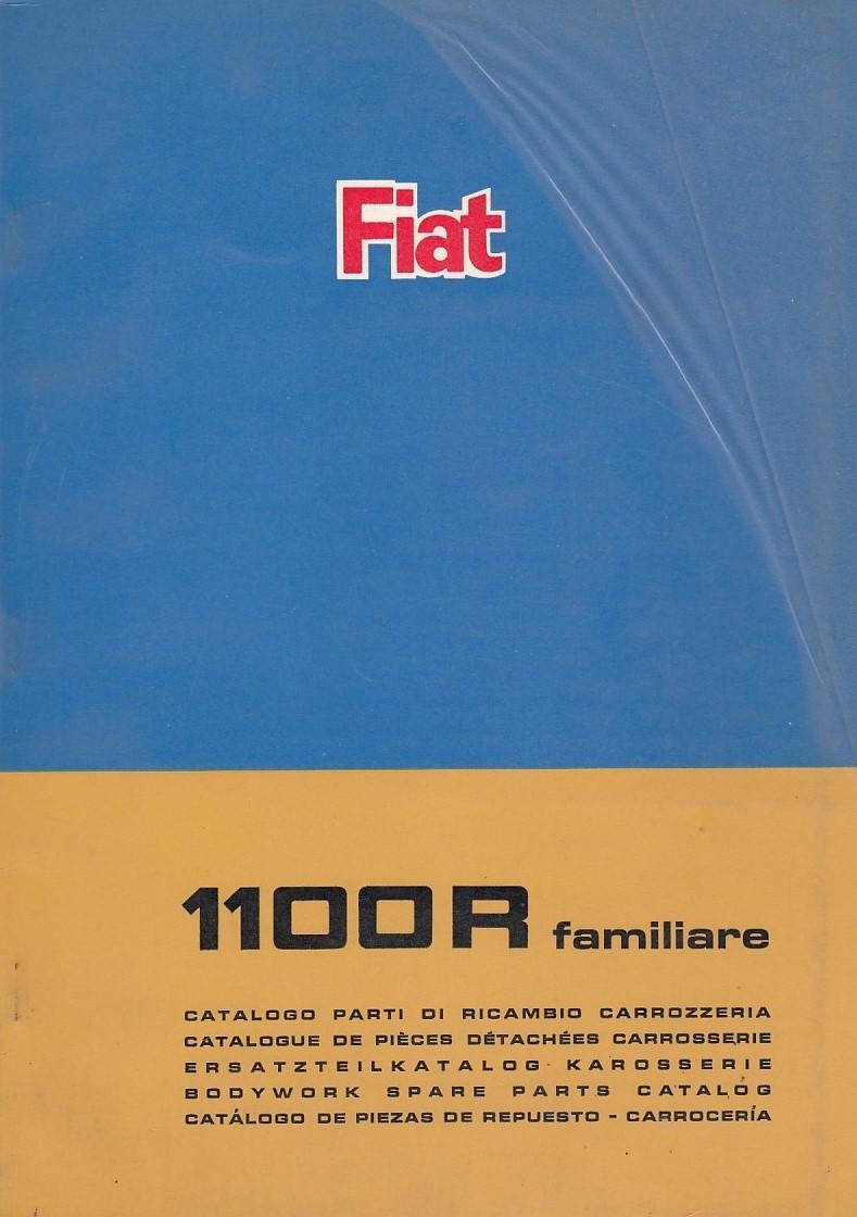 Fiat 1100R familiare (1966)  - Ersatzteilkatalog Karosserie