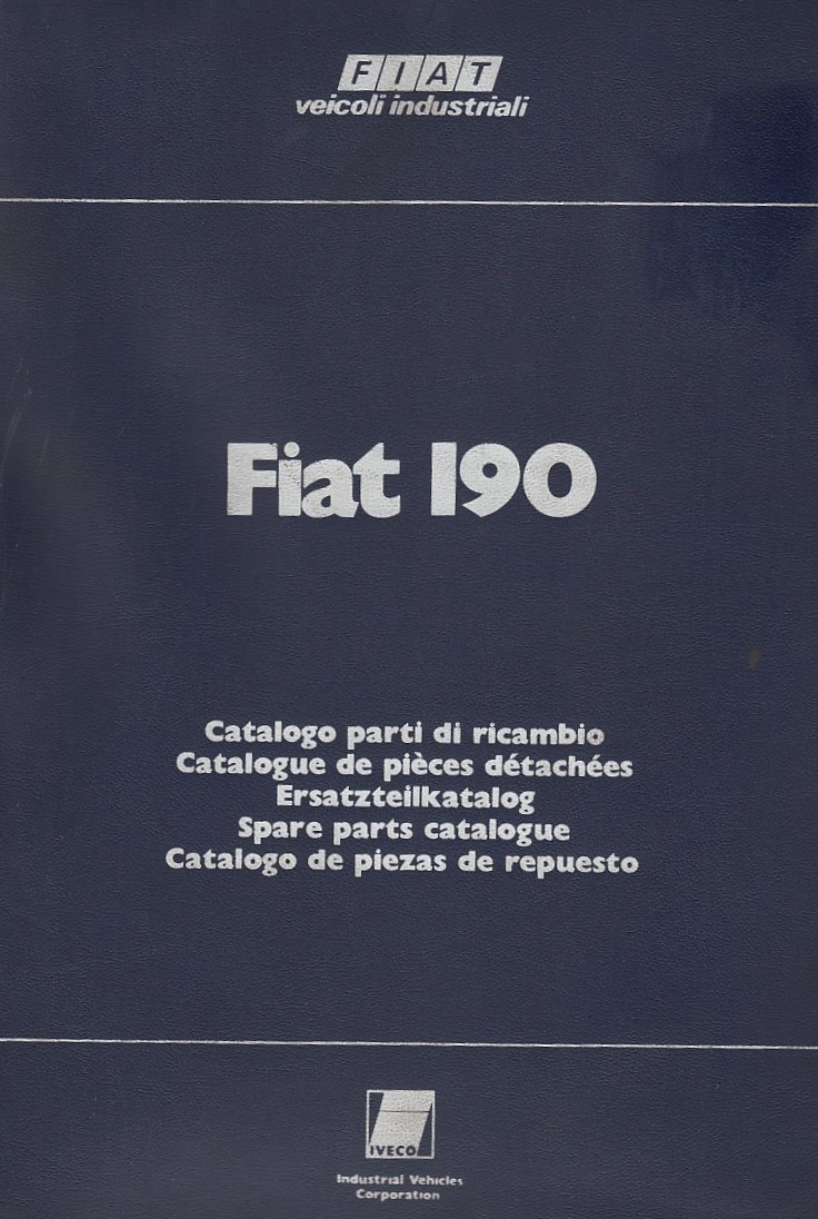 Fiat 190 (1975)  - Ersatzteilkatalog