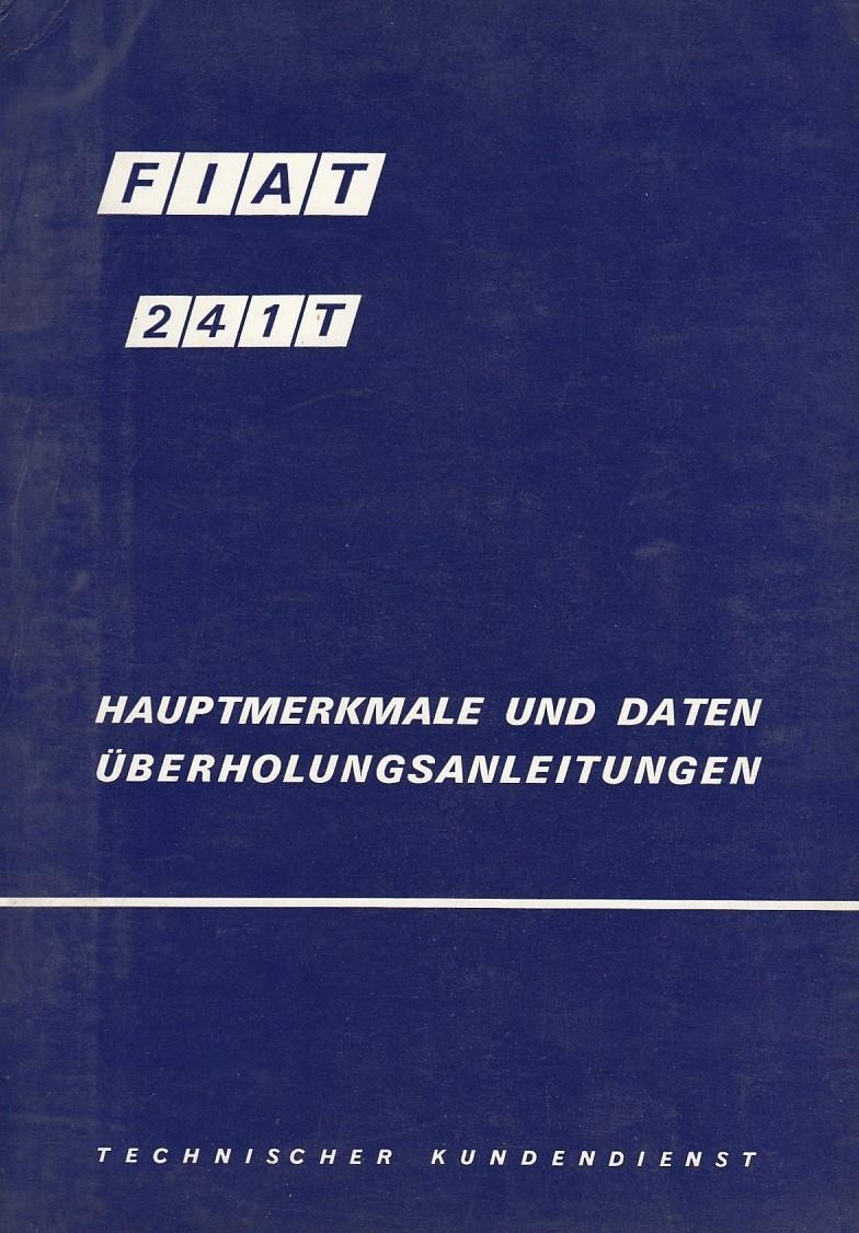 Fiat 241T (1968) - Hauptmerkmale und Daten
