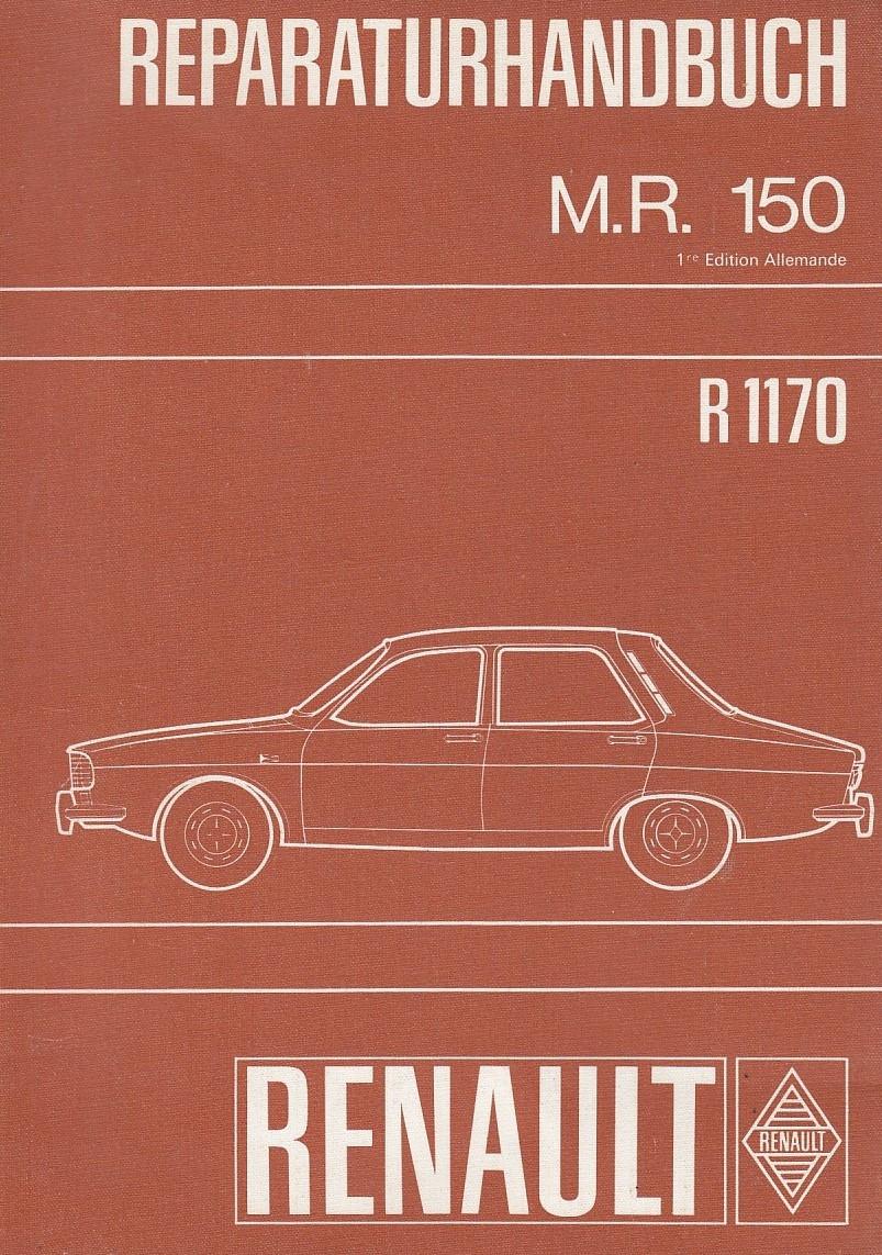 Renault 12 / R12 - R1170 (1969) - Werkstatthandbuch