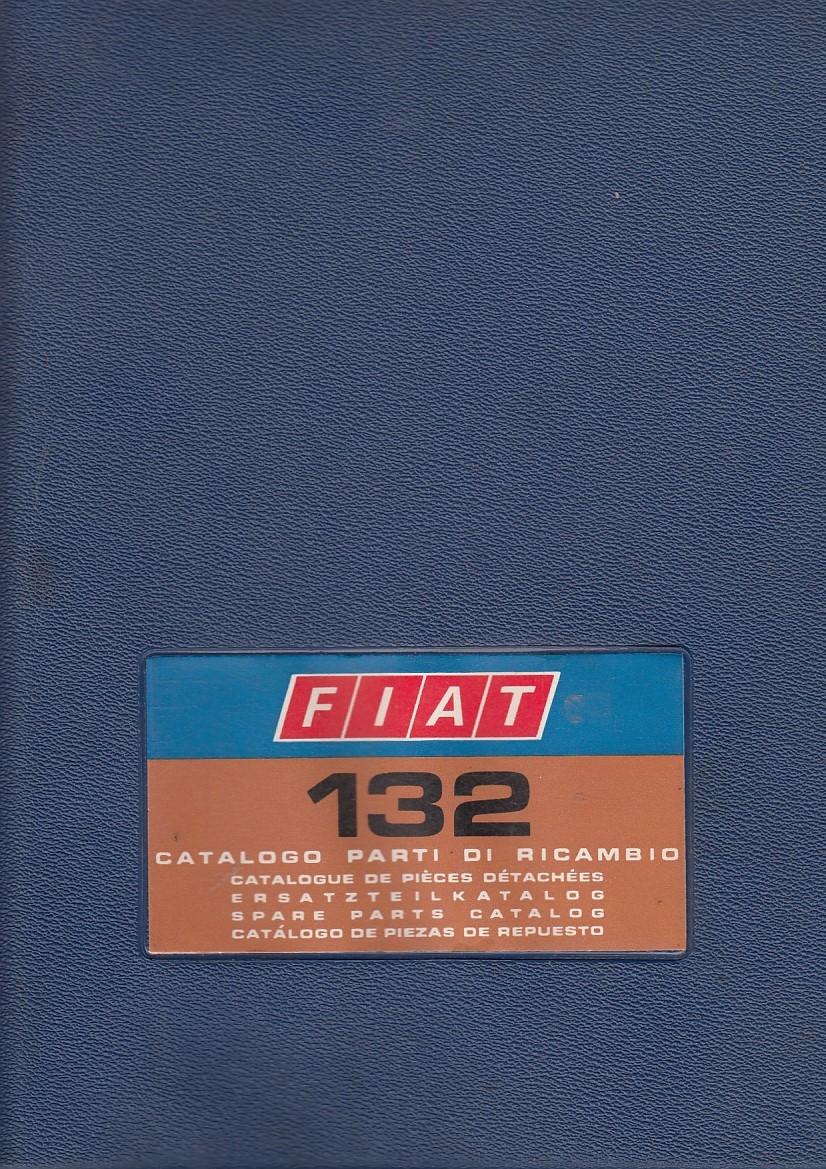 Fiat 132 (1972)  - Ersatzteilkatalog