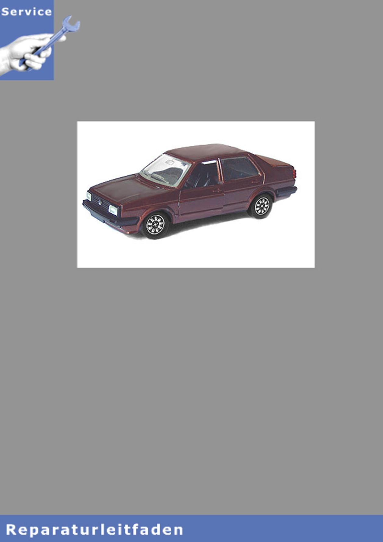 VW Jetta I, Typ 16 (79-84) Karosserie-Montagearbeiten - Reparaturanleitung