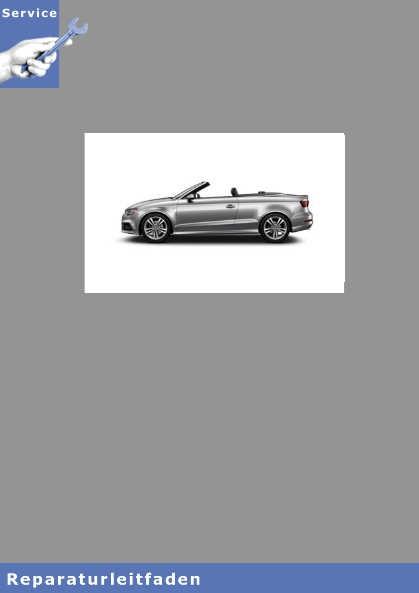Audi A3 Cabriolet Fahrwerk, Achsen, Lenkung - Reparaturleitfaden