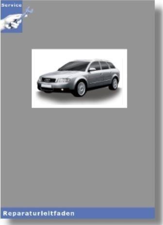 Audi A4 8E (01-08) Achsantrieb hinten 0AR - Reparaturleitfaden