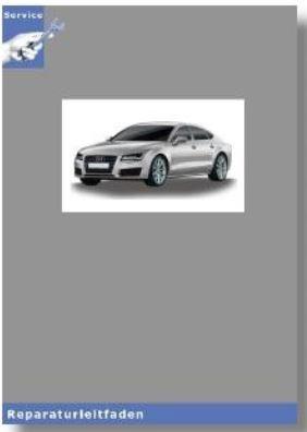 Audi A6 4G (11>) Karosserie- Montagearbeiten Außen - Reparaturleitfaden