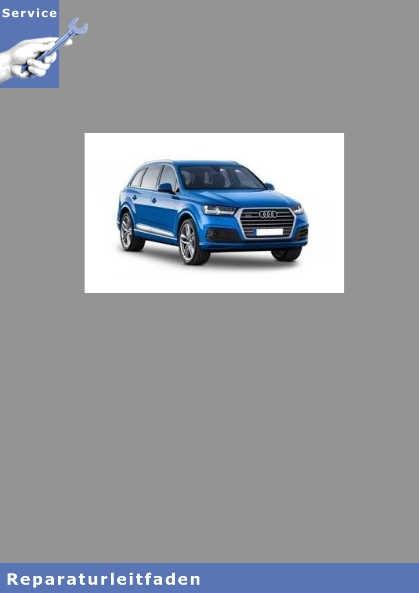 Audi Q7 Karosserie-Montagearbeiten-Innen - Reparaturanleitung