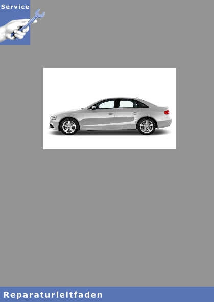 Audi A4, 8 Gang Automatikgetriebe 0D5 - Reparaturleitfaden