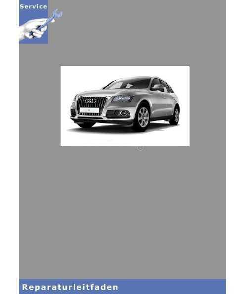 Audi Q5 8R (08>) 2,0l TDI Einspritz- und Vorglühanlage - Reparaturleitfaden