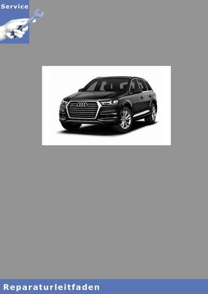 Audi Q5 Karosserie Montagearbeiten Außen - Reparaturanleitung