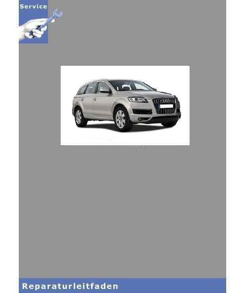 Audi Q7 4L (05>) Verteilergetriebe Achsantrieb vorn und Achsantrieb hinten