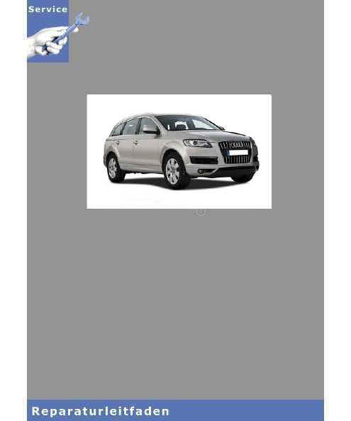 Audi Q7 4L (05>) 12-Zyl. TDI Common Rail 6,0l 500 PS Einspritz- Vorglühanlage