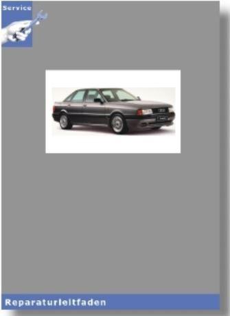 Werkstatthandbuch Audi 80 90 B3 1,8 Mono Motronic Einspritzanlage Zündanlage PM