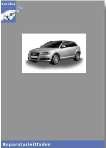 Audi A3 8P - 6 Gang-Schaltgetriebe 0AG - Reparaturleitfaden
