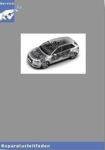 Audi A3 8V (12>) Instandsetzung 7 Gang-Doppelkupplungsgetriebe - Reparaturleitfaden