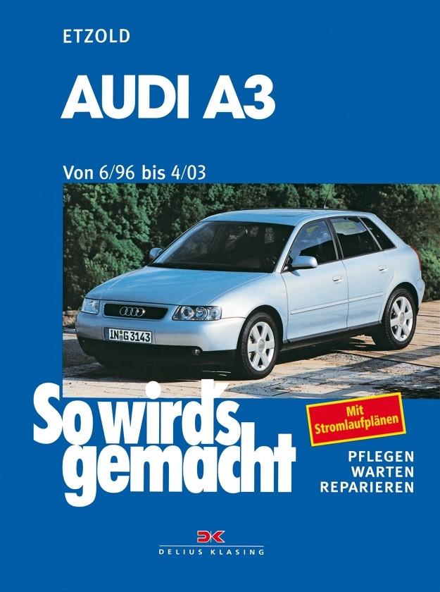 Audi A3 Reparaturanleitung Delius 110 So wird`s gemacht