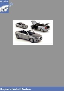 Audi A4 Cabrio 8H (02-06) 4-Zyl. Benziner 2,0l 4V 150 PS Motor Mechanik