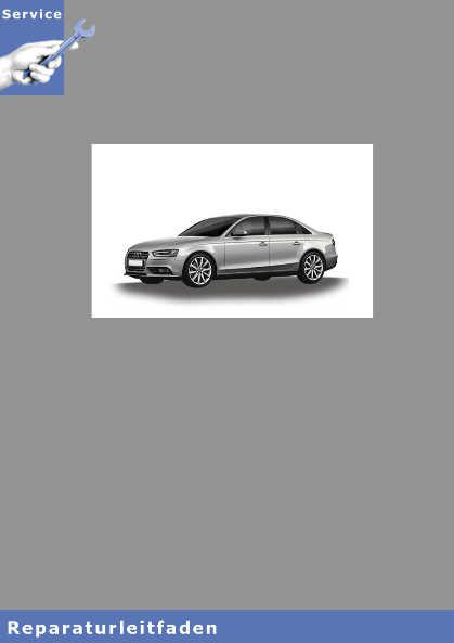 Audi A4 8K (08>) Reparaturanleitung 3,0l TDI Einspritz- und Vorglühanlage