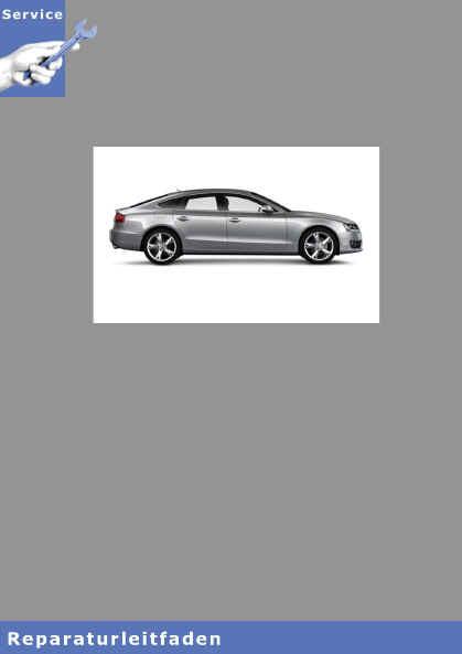Audi A5 8T (07>) 4-Zyl. Direkteinspritzer 1,8l und 2,0l 4V TFSI Motor, Mechanik