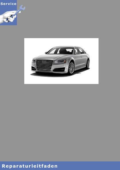 Audi A8 4N Karosserie Montagearbeiten Innen Reparaturanleitung