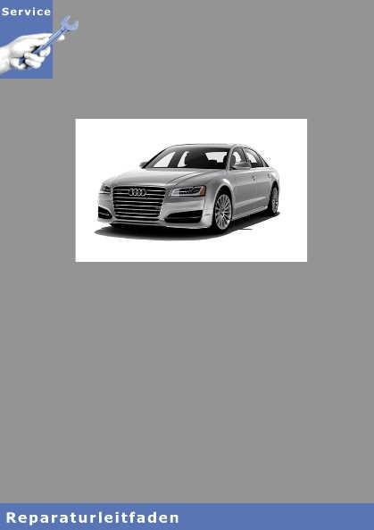 Audi A8 4N Fahrwerk Front- und Allradantrieb Reparaturanleitung