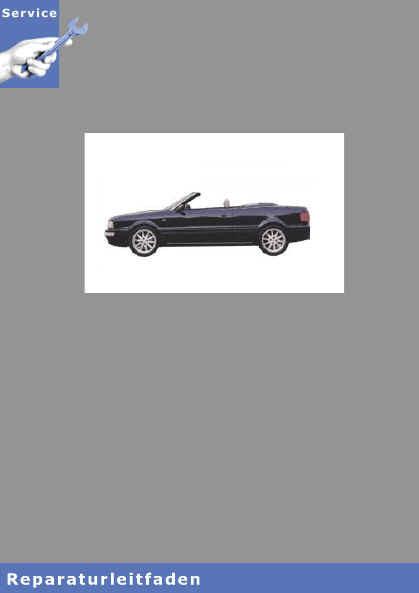 Audi Cabrio 8G (91-00) 5-Zyl. 2,3l 133 PS 2-Ventiler Motor Mechanik
