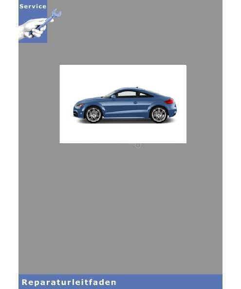 Audi TT 8J (06>) Kraftstoffversorgung Dieselmotoren - Reparaturleitfaden