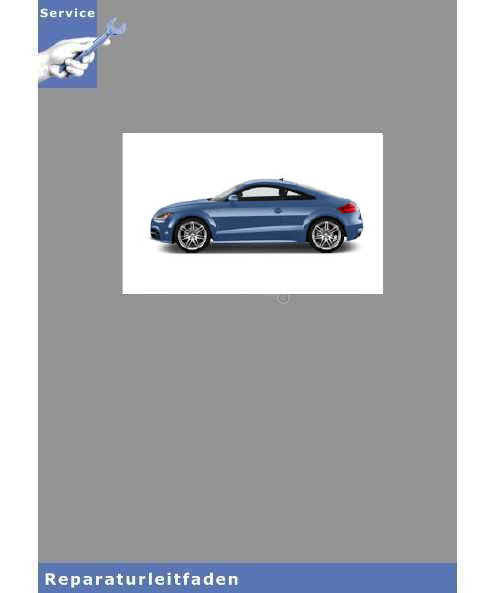 Audi TT 8J (06>) 5-Zyl. Benzin Motor 2,5l Turbo 4V Einspritzanlage