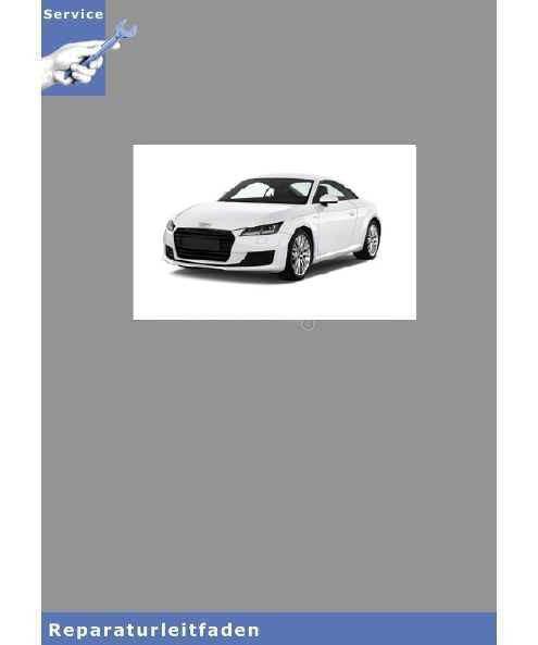 Audi TT 8N (98-06) Instandhaltung Inspektion - Reparaturleitfaden