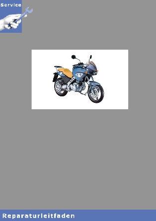 BMW F650 CS  (01-05)  - Reparaturanleitung