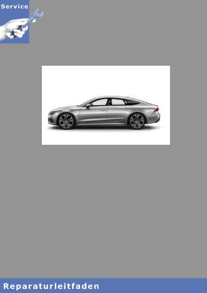 Audi A7 6 Zyl. TDI Common Rail 3,0l Motor - Reparaturleitfaden
